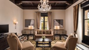 GRAND SUITE AT HOTEL ALFONSO XIII, SEVILLE